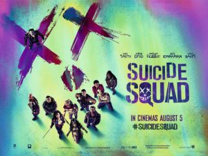Suicide Squad movie poster dos