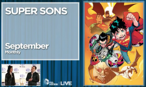 Super Sons September 2016 DC Comics Rebirth teaser