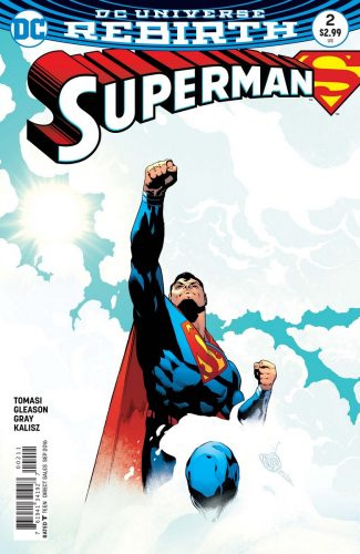 Superman #2 Rebirth DC Comics spoilers preview 1