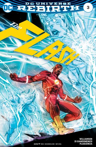 The Flash #3 Spoilers DC Comics Rebirth #1