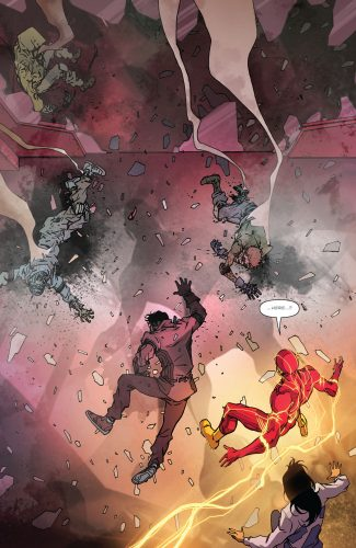 The Flash #3 Spoilers DC Comics Rebirth #3