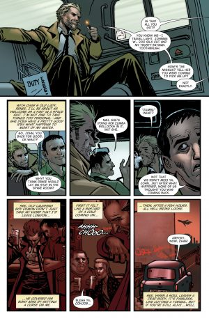 The Hellblazer Rebirth #1 Spoilers DC Comics 1