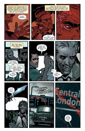 The Hellblazer Rebirth #1 Spoilers DC Comics 2