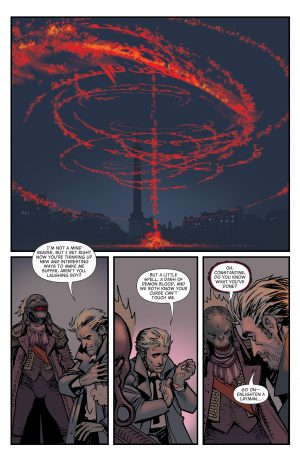 The Hellblazer Rebirth #1 Spoilers DC Comics 5