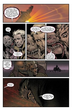The Hellblazer Rebirth #1 Spoilers DC Comics 7