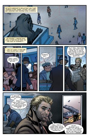The Hellblazer Rebirth #1 Spoilers DC Comics 9