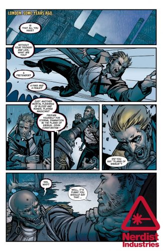 The Hellblazer Rebirth #1 spoilers preview 3