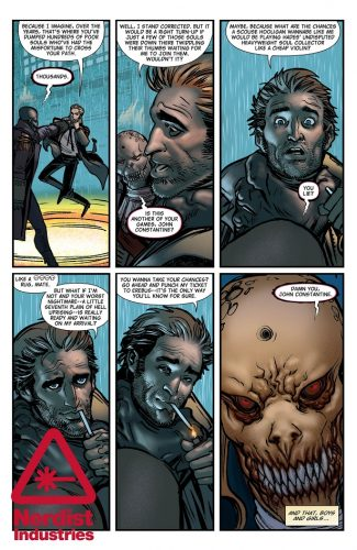 The Hellblazer Rebirth #1 spoilers preview 4