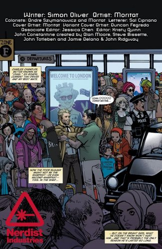 The Hellblazer Rebirth #1 spoilers preview 6