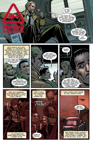 The Hellblazer Rebirth #1 spoilers preview 7