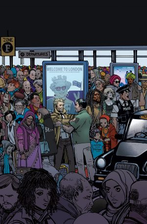 The Hellblazer Rebirth #1 spoilers preview E