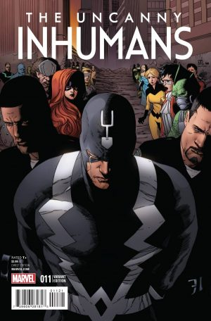 Uncanny Inhumans #11 variant cover