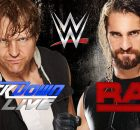 WWE Raw vs WWE Smackdown Live 2016 logo banner
