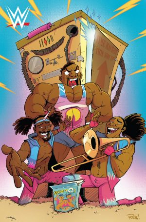 WWE SDCC Boom Studios The New Day