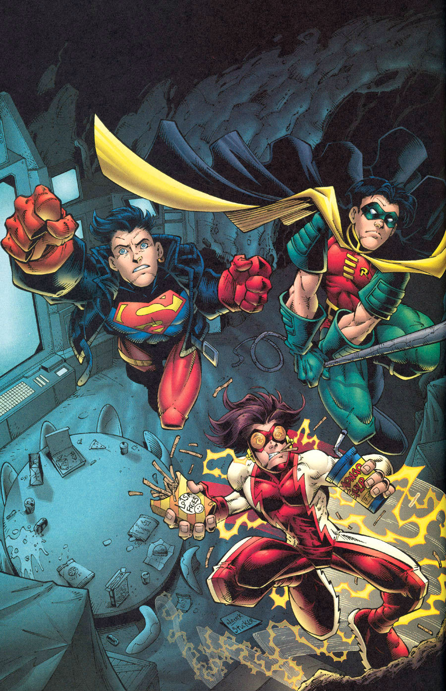 Brenton Thwaites as Robin in Official Photo for Teen ... |Young Justice Tim Drake Red Robin