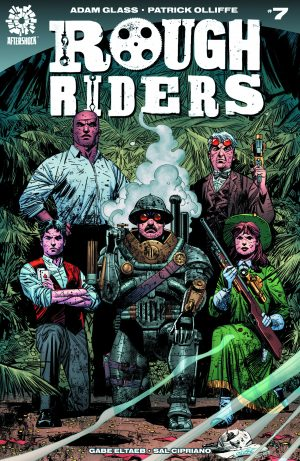 AfterShock Comics Rough Riders #7