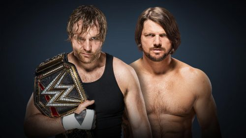 Backlash 2016 Smackdown WWE World Championship A.J. Styles vs Dean Ambrose