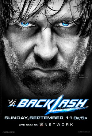 Backlash 2016 Smackdown poster