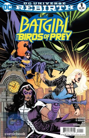 Batgirl and the Birds of Prey #1 DC Comics Rebirth spoilers preview 1