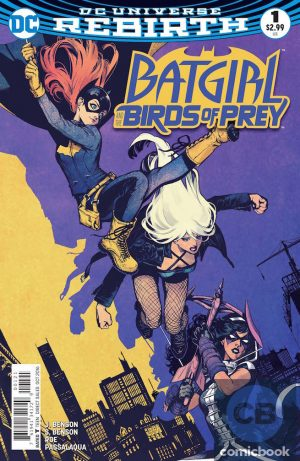 Batgirl and the Birds of Prey #1 DC Comics Rebirth spoilers preview 2