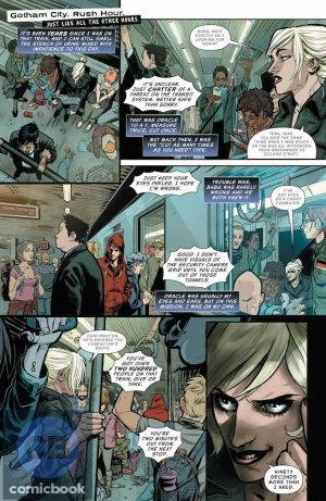 Batgirl and the Birds of Prey #1 DC Comics Rebirth spoilers preview 3