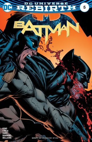 Batman #4 DC Comics rebirth spoilers 12
