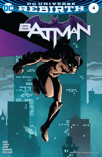 Batman #4 DC Comics rebirth spoilers 2