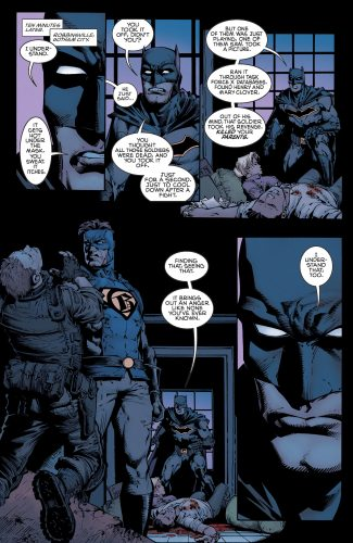 Batman #4 DC Comics rebirth spoilers 9