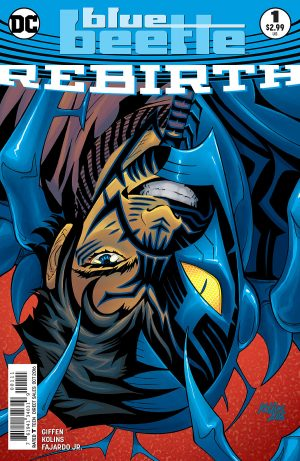 Blue Beetle Rebirth #1 spoilers preview 1