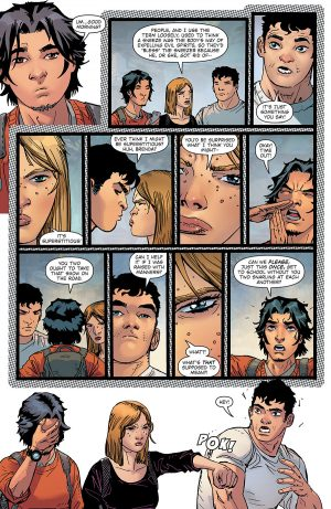 Blue Beetle Rebirth #1 spoilers preview 3