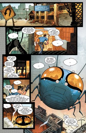Blue Beetle Rebirth #1 spoilers preview 4