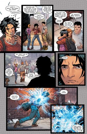 Blue Beetle Rebirth #1 spoilers preview 5