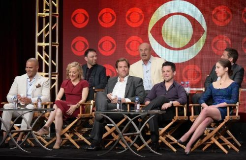 CBS Bull cast Michael Weatherly and Dr Phil McGraw