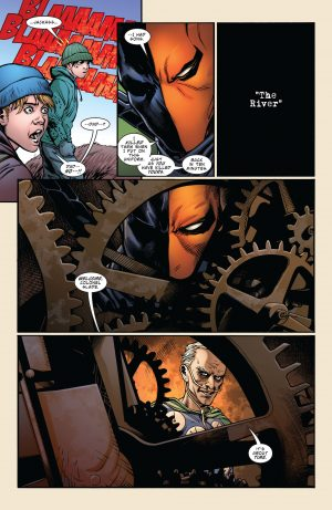 Deathstroke Rebirth #1 DC Comics Rebirth 1