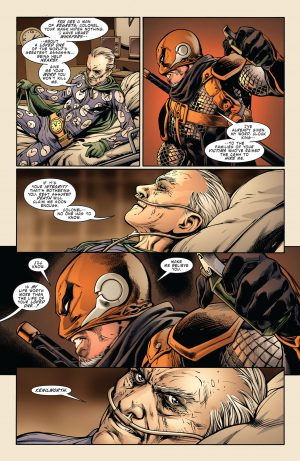 Deathstroke Rebirth #1 DC Comics Rebirth 3