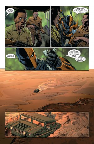 Deathstroke Rebirth #1 DC Comics Rebirth 4