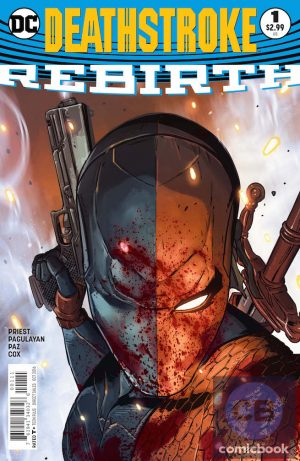 Deathstroke Rebirth #1 DC Comics Rebirth spoilers preview 1