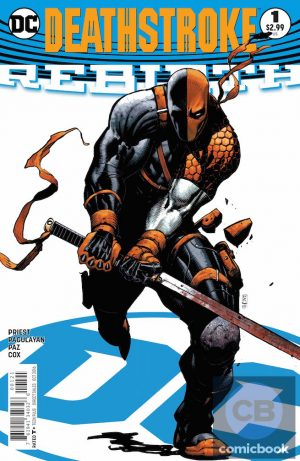 Deathstroke Rebirth #1 DC Comics Rebirth spoilers preview 2