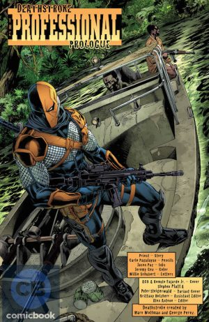 Deathstroke Rebirth #1 DC Comics Rebirth spoilers preview 7