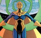 Dr. Fate #26 1990s banner