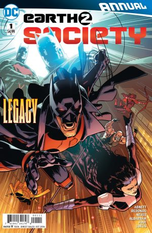 Earth 2 Society Annual #1 DC Comics preview #1
