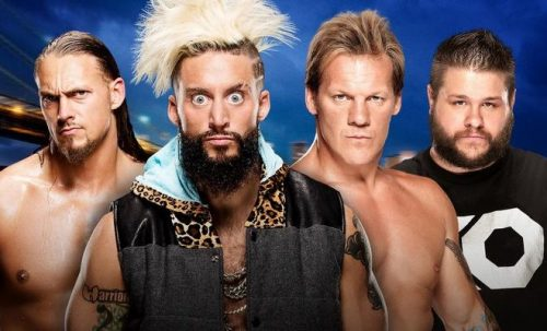 Enzo Amore & Big Cass vs Chris Jericho & Kevin Owens