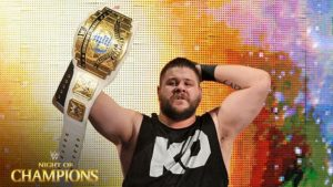 Fatal 4-way for WWE Universal Championship Kevin Owens