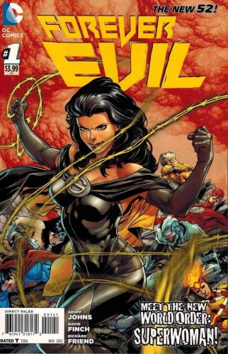 Forever Evil #1 DC Comics New 52 Superwoman of the Earth 3 Crime Syndicate