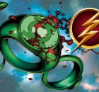 Green Lantern and the Flash DC Comics symbols logos icons banner