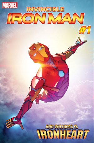Invincible Iron Man #1 Marvel Now 2016 Riri Williams is Ironheart Marvel Comics