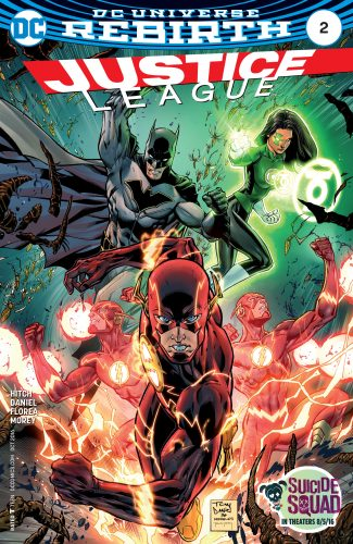 Justice League #2 DC Comics Rebirth spoilers 1
