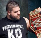 Kevin Owens as new & 2nd ever WWE Universal Champion on WWE Raw banner