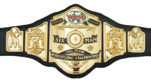 NWA 6-man champipns belt