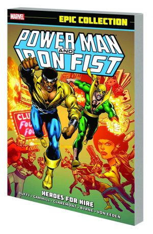 Power Man and Iron Fost as Heroes for Hire